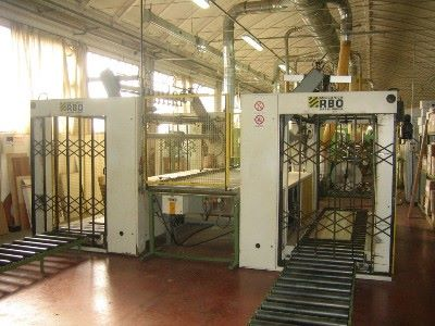 Squaring edge banding complete line HOMAG-RBO