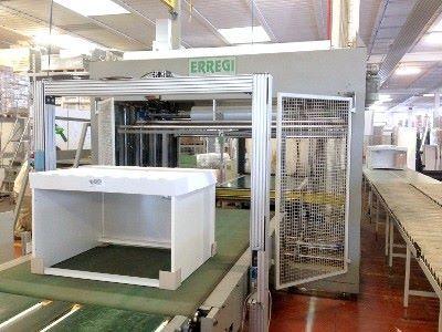 Linea di imballaggio ERREGI COMPACT 250/4R+TUNNEL 500 XL