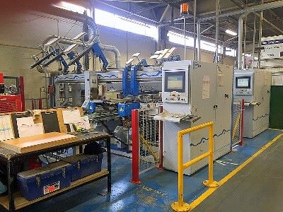 Foratrice automatica WEEKE BST 500/D