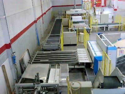 Impianto di fustellatura-imballaggio PANOTEC-ERREGI