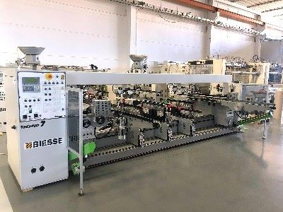 Automatic boring machine BIESSE TECHNO 7